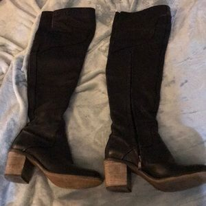 Guess by Marciano Size 8 Over The Knee Boots